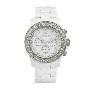 !!Never Worn!! Michael Kors White Watch